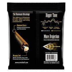Lumière d'Elixir 14202 5-String, acier électrique plaqué par nickel de basse échelle avec le revêtem
