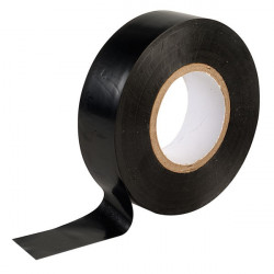 Black electrical tape 19mm x 20m  X10
