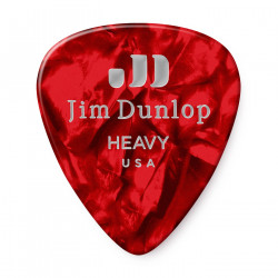 Heavy Celluloid Guitar Pick  (12/bag)