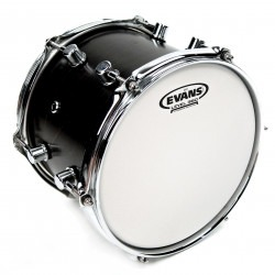 Evans G12 Coated White Drum Head, 15 Inch