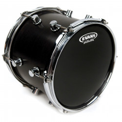 Evans Resonant Black Drum Head, 10 Inch