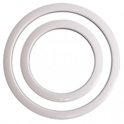 Port Hole Protector 6-Inch - White Finish