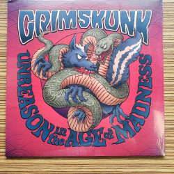 Grimskunk - Unreason in the age of madness Lp Vinyle