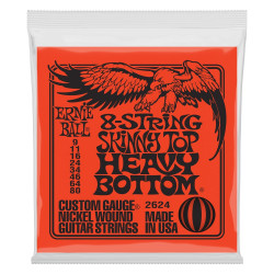 Ernie Ball 8 STR SKIN TOP HEAVY BOTTOM 9-80