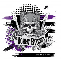 The Horny Bitches - Heart N Guts - LP Vinyl