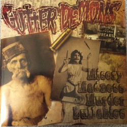 Gutter Demons - Misery Madness Murder Lullabies - CD