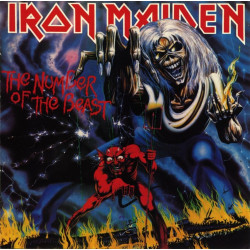 Iron Maiden - The Number of the Beast - LP Vinyl
