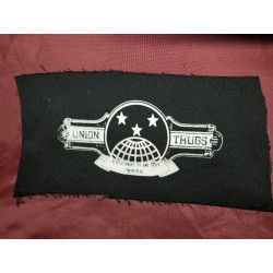 Union Thugs - Patch - Fabric