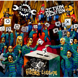 Spanner / Action Sédition - History Lessons - EP Vinyle