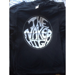 The Naked High - Black T-Shirt - Logo