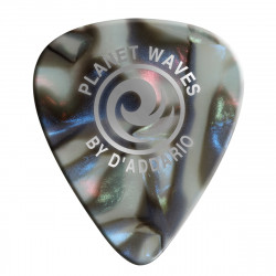 Planet Waves Abalone Celluloid Guitar Picks 100 pack, Medium