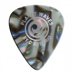 Planet Waves Abalone Celluloid Guitar Picks 100 pack, Extra Heavy